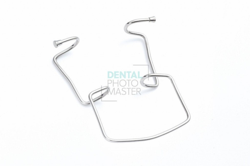 Metal self-retracting retractor / Oringer cheek retractor