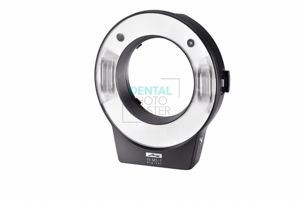 Metz Mecablitz 15 MS-1 Macro Ringlight Digital Flash Kit – front view