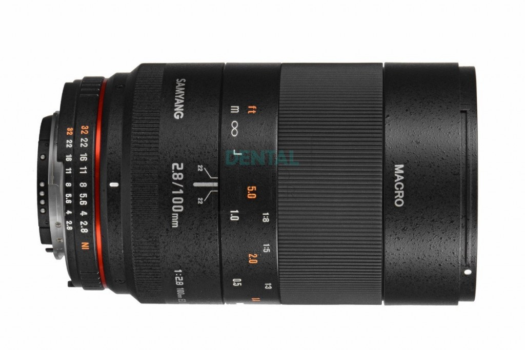 Samyang 100mm f/2.8 ED UMC Macro Lens for Nikon F