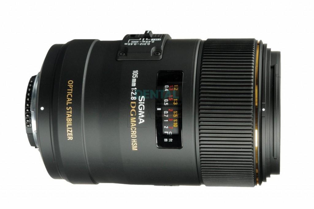 Sigma 105mm f/2.8 EX DG OS HSM Macro Lens for Nikon