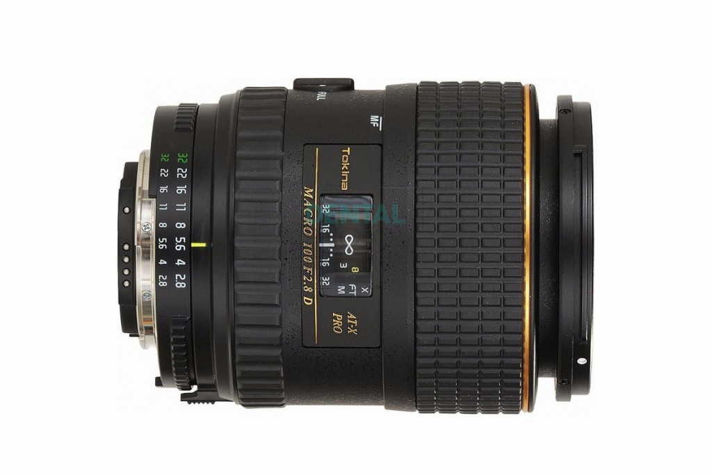 Tokina 100mm f/2.8 AT-X M100 AF Pro D Macro Autofocus Lens for Nikon