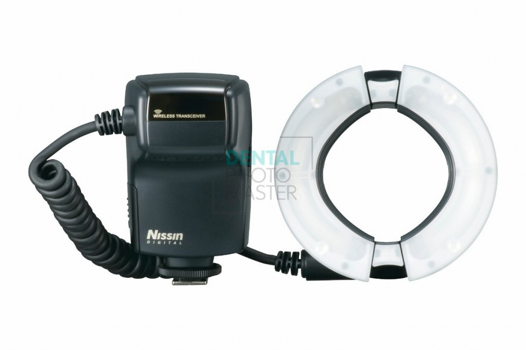 Nissin MF18 Macro Flash for Nikon  - front view