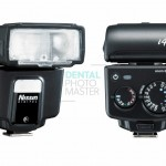Nissin i40 flash – front and back view