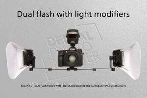 Fot.9_Dual Flash with Lumiquest
