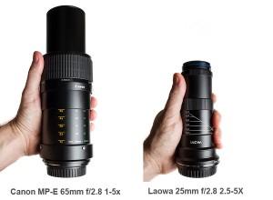 Laowa-25mm vs Canon-MPE