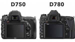 Nikon-D750-vs-D780-Rear-Control-Layout