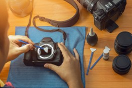 How to Keep Your Camera and Lens Clean